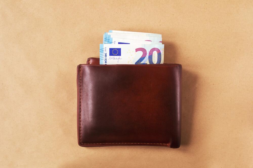 Rahaa lompakossa